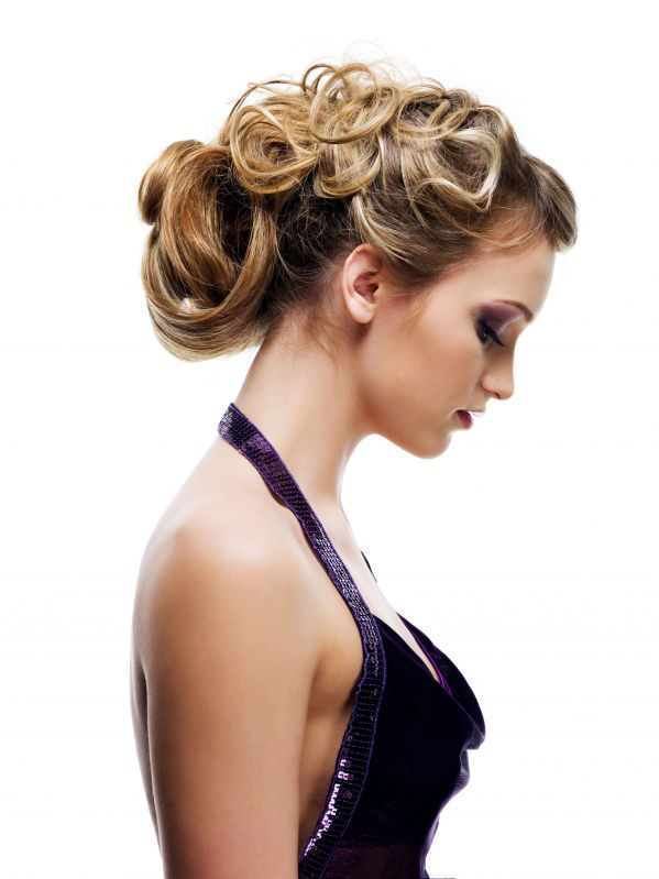 Side bun or a trendy edgy upstyle whatever your style we will create a