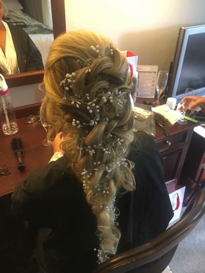 Wedding hair Sutton Coldifeld