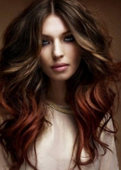 dark-brown-and-red-hair