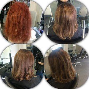 Hair Dye, Sixth Sense Salon, BIrmingham, Sutton Coldfield