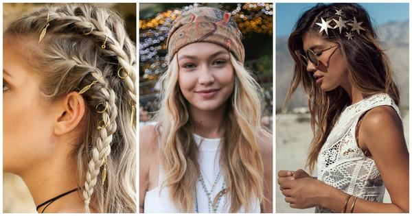 4 Festival Hair Ideas