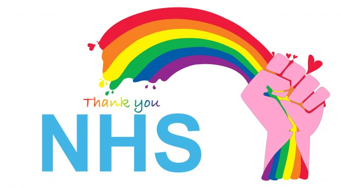 We love you NHS workers