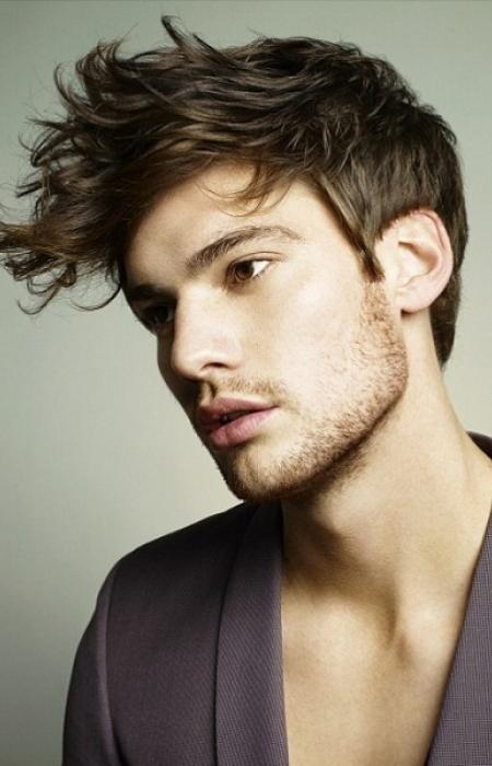 hairstyle-trends-2014-mens-trendy-messy-hair-fringe-cut