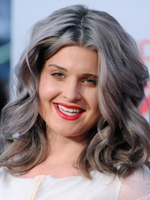 kelly osbourne's grey hair