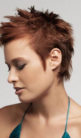 short-wild-hairstyle-ladies-cut-trendy